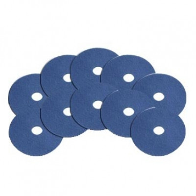 6.5 inch Blue Scrubbing Super Clean Pads