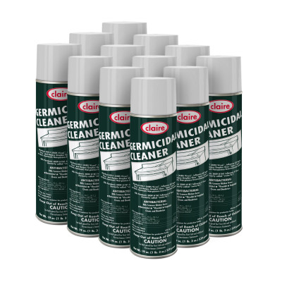 Claire® Germicidal Disinfectant Cleaner (19 oz. Aerosol Cans) - Case of 12