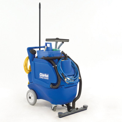 Clarke® TFC 400 Hands Free Bathroom Cleaner & Carpet Extractor