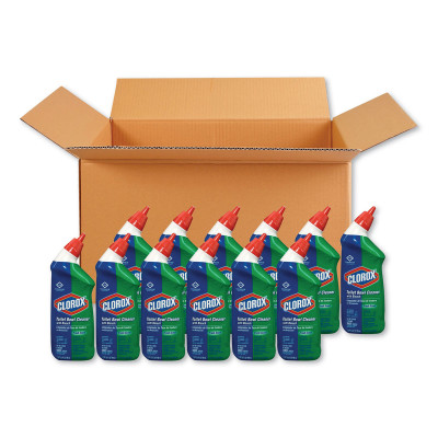 Case of Fresh Scent Toilet Bowl Cleaner with Bleach