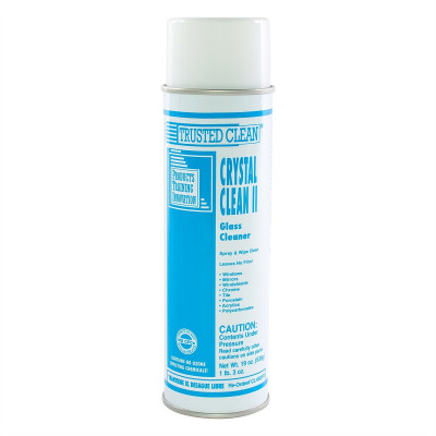 Trusted Clean 'Crystal Clean II' Aerosol Glass Cleaner