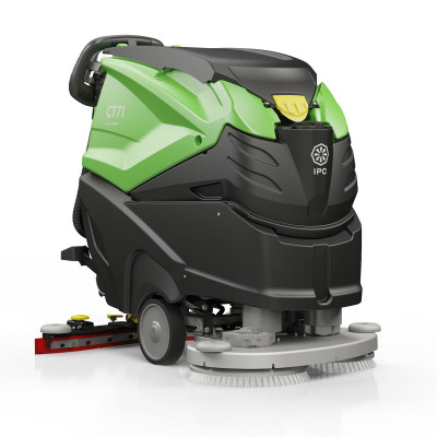 """IPC Eagle CT71XP 600 RPM High Speed 28"""" Automatic Floor Polisher & Scrubber - 19 Gallons"""