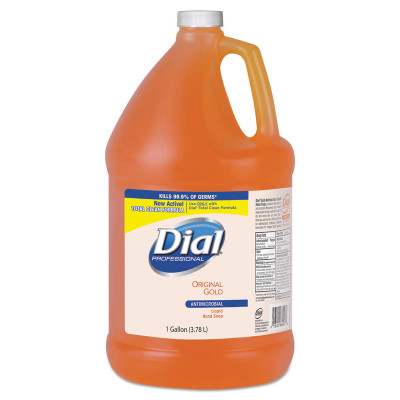 Case of Dial Professional Gold Antimicrobial Soap, 1 Gallon Bottles