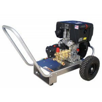160 degree Diesel Power Pressure Washer