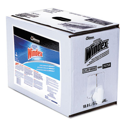 Powerized Formula Glass/Surface Cleaner, 5gal Bag-in-Box Dispenser