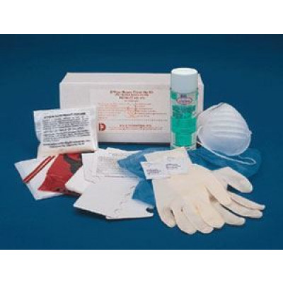 'D-Vour' Bodily Fluid Clean Up Kit w/ a Phenolic Disinfectant