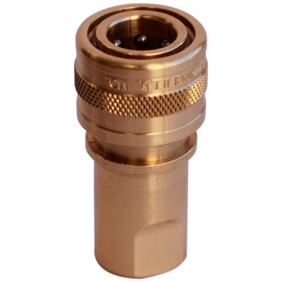 1/8 inch Brass Female Quick Disconnect
