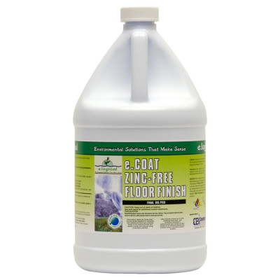 e.Coat Zinc-Free Floor Finish - Environmentally Responsible