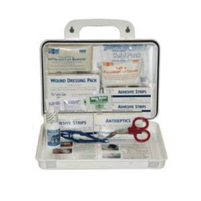 25 Man First Aid Kit with Eyewash