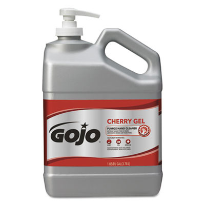 GOJO® Cherry Gel Pumice Hand Cleaner (1 Gallon Bottles) - Case of 2