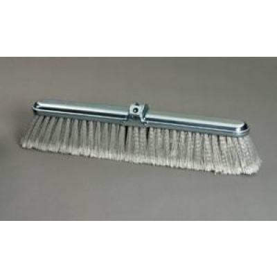 36 inch Gray Flagged PVC Push Broom