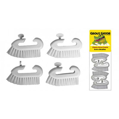 Grout Gator 4 Pack Brush Head