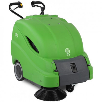 IPC Eagle 28 inch Walk Behind Battery Sweeper
