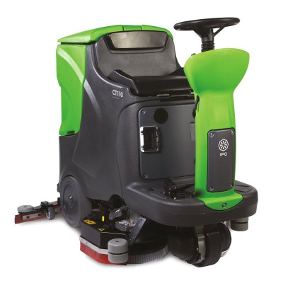 Large Ride-On Automatic Floor Scrubber