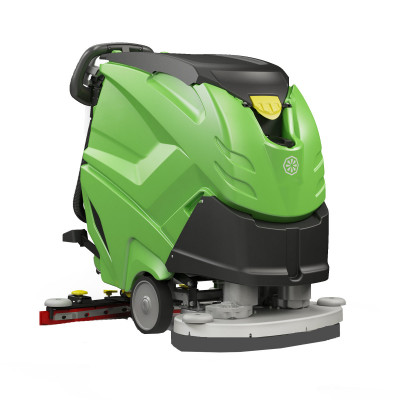 """IPC Eagle CT51XP 600 RPM High Speed 28"""" Automatic Floor Polisher & Scrubber - 13 Gallons"""