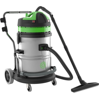 IPC Eagle Single Motor Wet/Dry Vacuum - 16 Gallon Steel Tank
