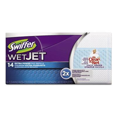 Swiffer Extra Power WetJet System Refill Cloths