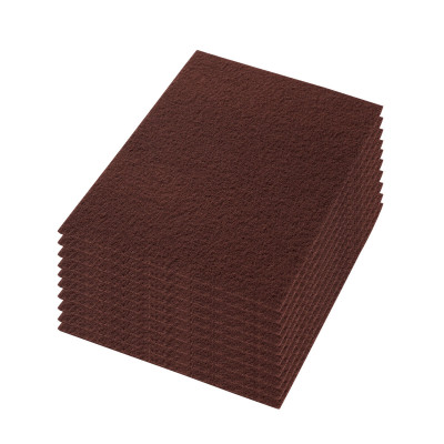 """19"""" Maroon X Extreme Floor heavy-duty Stripping Pads - Case of 10"""