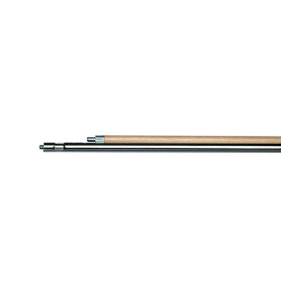 Two Piece Sectional Wood/Steel Handle