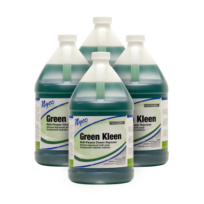 Green Kleen Heavy Duty Floor Degreaser Case of 4