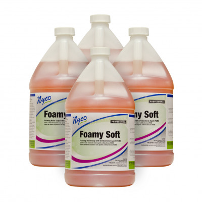 Nyco® Foamy Soft Foaming Antimicrobial Hand Soap with PCMX - 4 Gallons