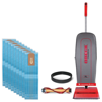 Oreck Upright Vacuum Package Deal with Free Bags & Belts