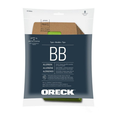 Oreck® XL Pro 5 Disposable Allergen Filtration Bags