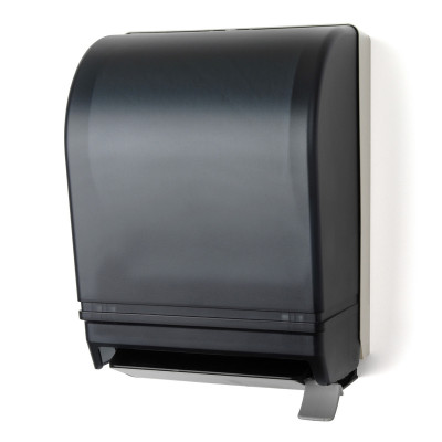 Roll Towel Dispenser with Lever Action