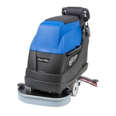 """Powr-Flite® Predator 24"""" Traction Drive Automatic Floor Scrubber w/ Pad Drivers"""