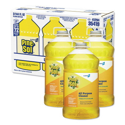 Case of Pine-Sol All-Purpose Cleaner, 144 oz Bottles