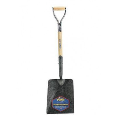 Pony D-grip Flat Shovel