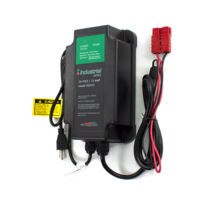 Pro Charging Systems Industrial Series 24 Volt, 12 Amp Battery Charger (IS2412)