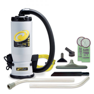 ProTeam Quiet Pro HEPA Backpack Vacuum