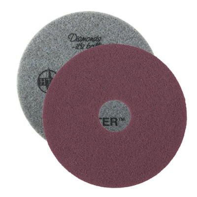 Purple Twister™ SuperClean Diamond Cleaning Pads - Round (13