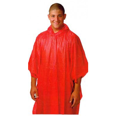 PVC Disposable Rain Poncho