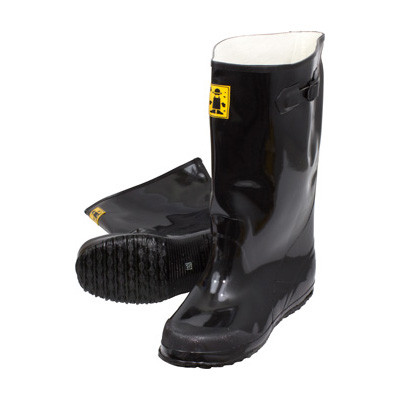 Black Rubber Slush Boots