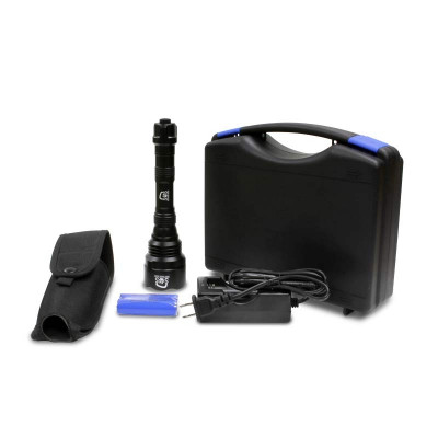 S.O.S. Portable UV Black Light Flashlight Pet Urine & Stain Detection Kit