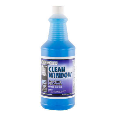 Trusted Clean 'Clean Window' Glass Cleaner with Ammonia