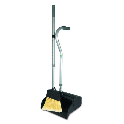 Telescoping Dust Pan & Broom Combo