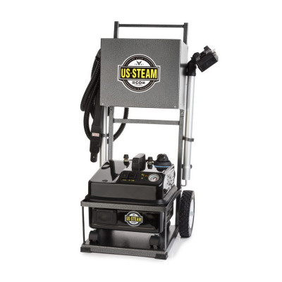 U.S. Steam Eagle Continuous Fill Steam Cleaning Machine & Cart - 75 PSI