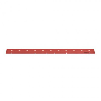 Front Red Slotted Linatex Squeegee for the Viper AS710R, AS7190TO & AS7690T Automatic Floor Scrubbers