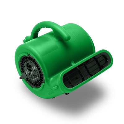 Green B-Air Vent Compact 900 CFM Air Mover 45* Angle