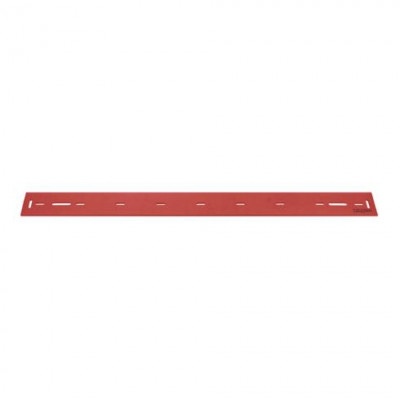Rear Red Linatex Squeegee for the Viper AS710R, AS7190TO & AS7690T Automatic Floor Scrubbers