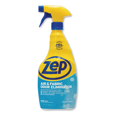 Zep Air and Fabric Odor Eliminator, Fresh Scent