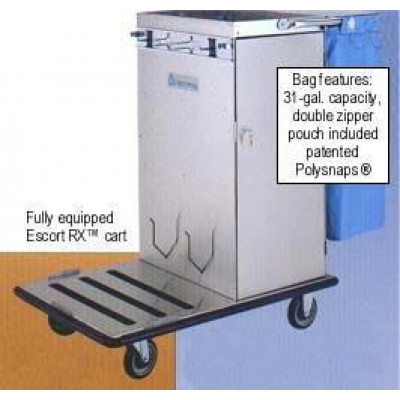 Geerpres Escort RX Housekeeping Cart