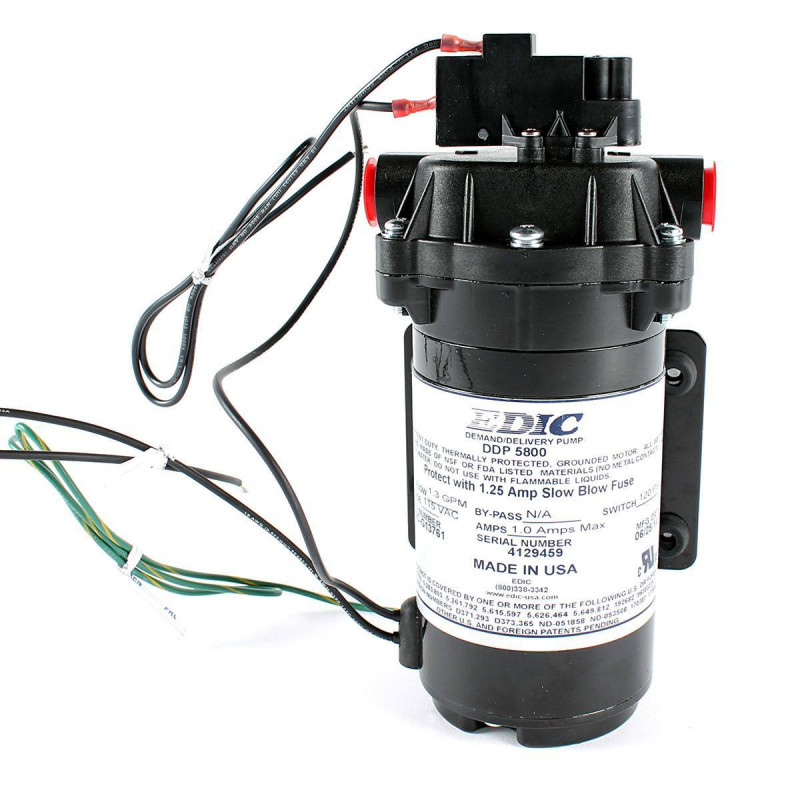 100 Psi On Demand Aquatec Pump For Trusted Clean Extractors