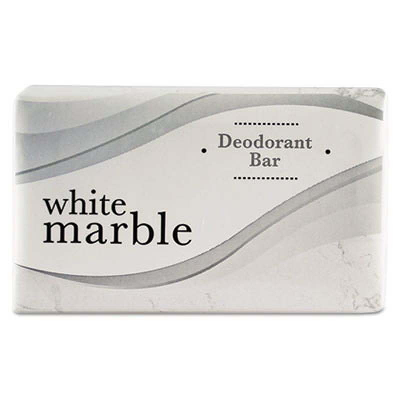 Individually Wrapped Deodorant Bar Soap White 75oz Bar
