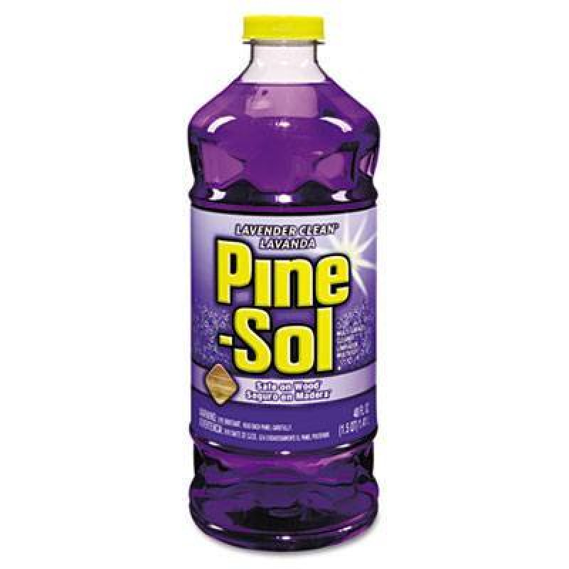 Case Of Pine Sol Lavender Clean All Purpose Cleaner