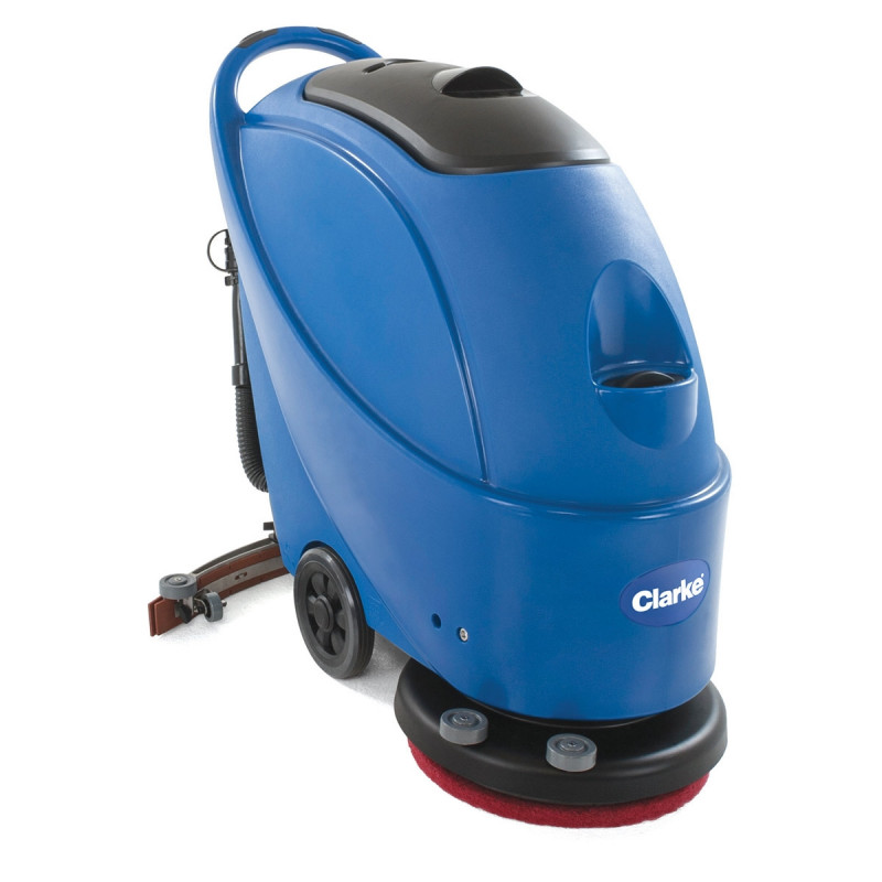 Clarke ca30 17e electric automatic floor scrubber 17 for 17 inch floor buffer