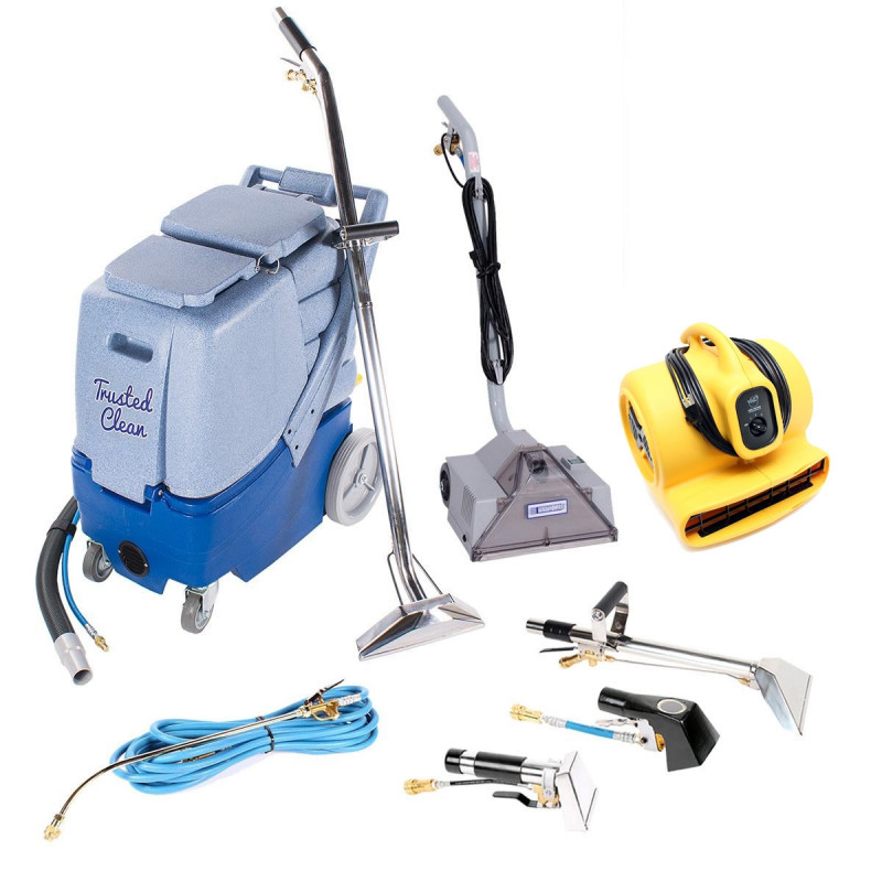 Professional Carpet Scrubbing Amp Cleaning Package